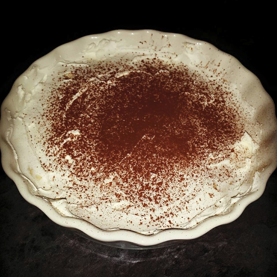 low sugar gluten free banoffee pie