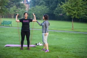 Our Outdoor Training - Busy Woman's Fitness Project