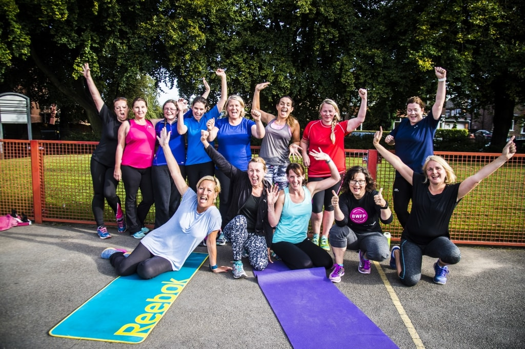 Our outdoor bootcamps - Busy Woman's Fitness Project Image