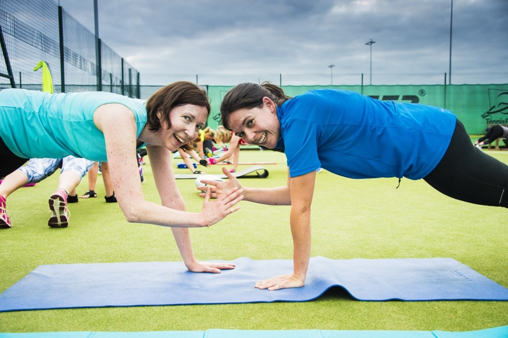 Group Fitness Classes - Busy Woman's Fitness Project Image